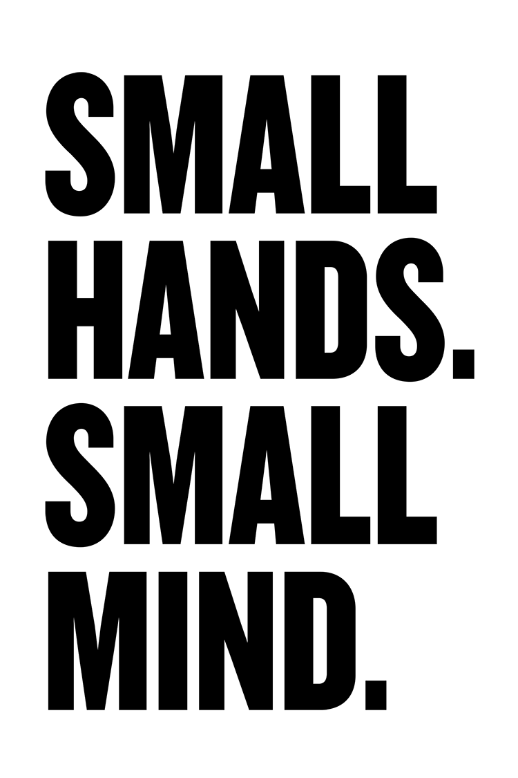 Small Hands poster